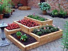 Best raised garden beds best raised vegetable garden beds for urban gar Raised Garden Beds, Raised Beds, Big Garden, My Secret Garden, Tropical Plants, Vegetable Garden, Succulents, Vegetables, Diy