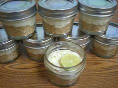 No bake Key Lime Pie in a Jar