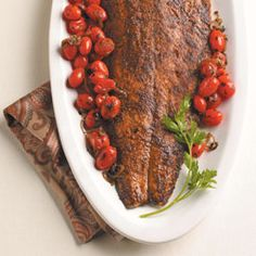 Spiced roasted #salmon. #recipes #diabetes