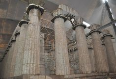 Temple of Apollo, Vasses, inside its protective enclosure