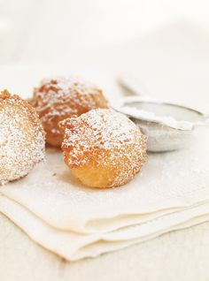 homemade beignets