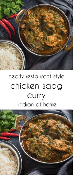 You can make chicken saag at home that will rival what you get in Indian restaurants