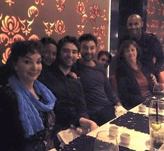 A repost of Aidan's Mom, Eileen (with the blue scarf), older brother, Colin, aunt and cousins...and of course Aidan