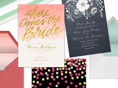 Read Invitations + Paper advice on TheKnot.com. Get tips on etiquette and find suggestions for your wedding.
