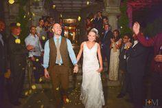 Wedding Exit, LeahAndMark.com