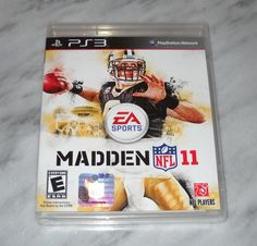 PS3 Game Madden 11 EA Sports Football Sony Factory Sealed New #teamsellit #videogames