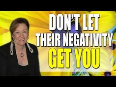 Abraham Hicks - Don't Let Their Negativity Get You ☑ - YouTube