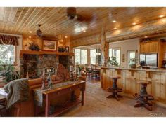 Love how the kitchen, dining room, and living room are all open  40575 IRONWOOD Dr Big Bear, CA 92315