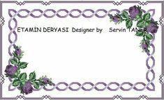 Facebook Etamin Deryası gurubunda ücretsiz şablonu paylaşıldı Purple Roses, Cross Stitch Embroidery, Needlework, Wreaths, Crafts, Om, Design, Craft Ideas, Cross Stitch Rose