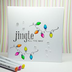 Want to know more about Handmade Christmas Cards Simple Christmas Cards, Christmas Doodles, Christmas Card Crafts, Homemade Christmas Cards, Xmas Cards, Homemade Cards, Christmas Card Designs, Christmas Lights, Cards Diy