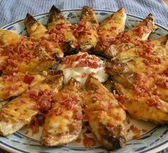 Memorial Day Appetizer: Grilled Potato Skins Recipe