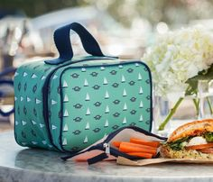 Lonny Magazine: (Eco) Lunch Case and Zip Packs