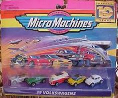Micro Machines - I Remember the commercials with the guy who talked super fast! brother had a cool little village of these