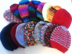 Adult Winter Hats by PengwensCottage on Etsy