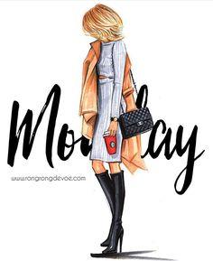 Illustration Fashion Fashion Illustration by Houston fashion illustrator Rongrong DeVoe Fashion Sketches, Fashion Illustrations, Illustration Fashion, Estilo Disney, Girly, Fashion Art, Fashion Design, Style Fashion, Trendy Fashion