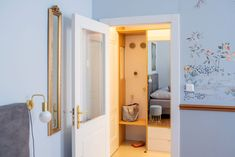 Oasis Blue - Oasis, Studios, Mirror, Furniture, Home Decor, Lavender, Decoration Home, Room Decor, Mirrors
