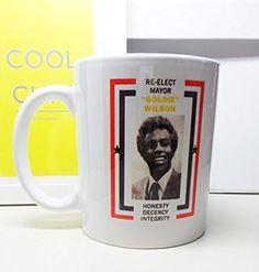 Back to the Future Mayor Goldie Wilson Mug
