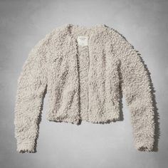 Abercrombie & Fitch Kailyn Fuzzy Bomber Fur Jacket In great condition! So cute & cozy Abercrombie & Fitch Jackets & Coats