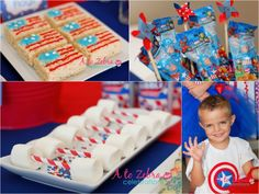 Captain America Birthday Party