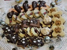 Linecké sedmoro - Recept Christmas Goodies, Christmas Baking, Xmas Cookies, Biscotti, Nutella, Great Recipes, Sweet Tooth, Food Porn, Food And Drink