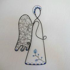 angel - wire decoration