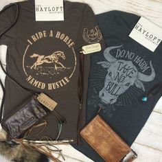 Rodeo Season Must Have! #shopthehayloft #rodeo #boutiquestyle #graphictee