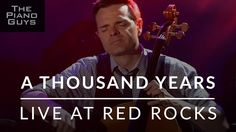 A Thousand Years - Live at Red Rocks - The Piano Guys Heart Wrenching Song!!!