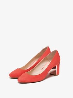 SALÓN ANTE CORAL de MUJER - Zapatos - Ver todo de Massimo Dutti de Otoño Invierno 2016 por 69.95. ¡Elegancia natural!