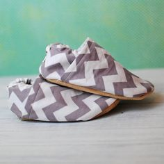 Chevron Baby Shoes  Color Choices by QuinnleesBoutique on Etsy, $17.00