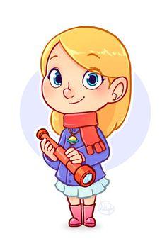 """Little Astronomer by <a href=""""http://LuigiL.deviantart.com"""" rel=""""nofollow""""…"""