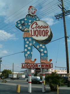 Circus Liquor: I must say, clowns and alcohol make a frightening combo.