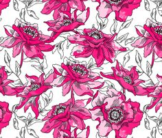 bohème fabric by holli_zollinger on Spoonflower - custom fabric