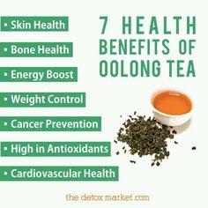 7 health benefits of Oolong Tea... ~D~