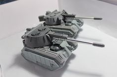 Converted Imperial tanks