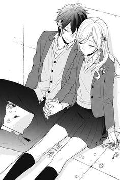 Manga Anime, Anime Couples Manga, Manhwa Manga, Anime Love, Manga Love, Romantic Anime Couples, Romantic Manga, Couple Manga, Cute Anime Coupes