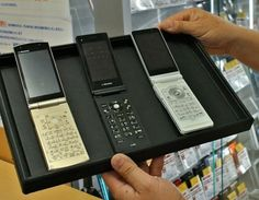Japan to stop making Galapagos phones in 2017. Flip phones are popular among older users.
