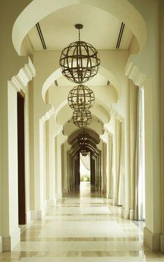 Super cool hallways, Park Hyatt Dubai