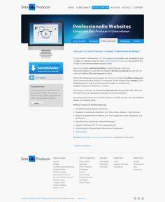 Homepage erstellen Software