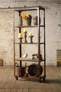 Vintage Industrial Furniture -- welding project idea for new apartment!