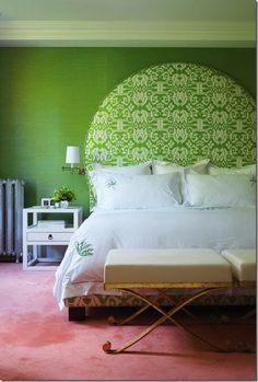 Fifty Upholstered Headboards to Love - Vanessa Francis Design