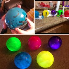 """toughtinkcosplay: """" inside out memory orb tutorial! you can see that there was some experimentation with getting these right, but in the end they were pretty easy and cheap. the total cost was..."""