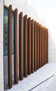 Gallery of Sunshade Systems - 6 House Fence Design, Fence Gate Design, Modern Fence Design, Privacy Fence Designs, Railing Design, Patio Design, Exterior Design, Garden Design, Glass Balcony Railing