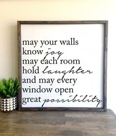 Painting quotes on wood diy wooden signs 36 Ideas Home Decor Signs, Diy Signs, Wall Signs, Diy Home Decor, Canvas Signs, Wooden Diy, Custom Wooden Signs, Modern Family, Painting On Wood