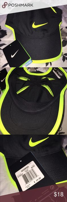Women's dri-fit featherlight Nike hat. Nike dri-fit hat. Never worn before, I have the tags still unattached. Brand new. Nike Accessories Hats