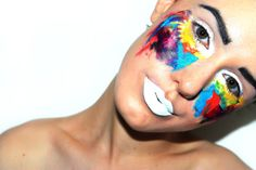 Neon Gypsy: face paint isn't just for kids