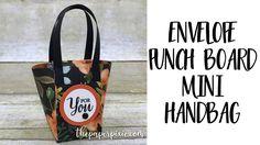 Envelope Punch Board Mini Handbag - Facebook Live! - YouTube
