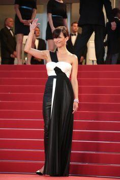 Le style de Sophie Marceau: en total look noir sur le ...