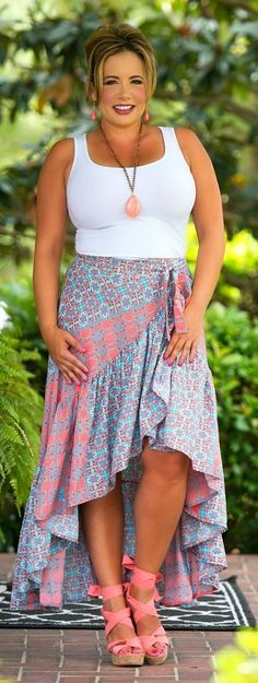 LOVE LOVE LOVE THIS SKIRT!! -c Perfectly Priscilla Boutique is the leading provider of women's trendy plus size clothing online. Our store specializes in one of a kind, plus size clothes.