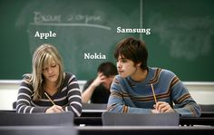 Apple, Samsung and  Nokia http://www.drlima.net