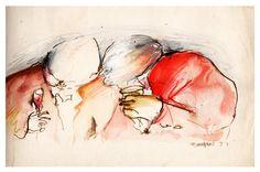Pintura acrílica - A Festa - 1993